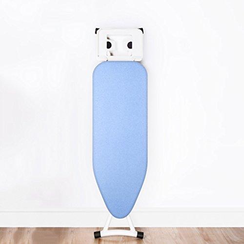 LIZITYB Tabla de Planchar, casa Plegable Tabla de Planchar Azul Tubo de Acero Grueso, Malla de Acero Grueso, diseño de Bloqueo, Placa de Hierro eléctrico (Size : 110cm)