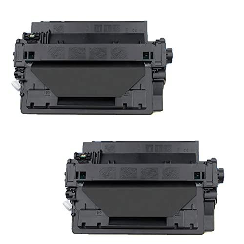 GYYG Reemplazo de Cartucho de tóner Compatible para HP CE255A para HP Laserjet Pro P3015 3015D 3015dn 3015x Impresora con Chip Black Imaging Drum, Ajuste preciso, Oficina 2-Black