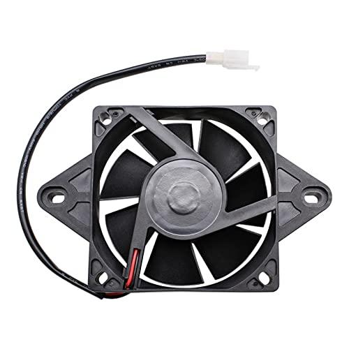 ZHAOHUA wuli Store Ventilateurs de Refroidissement par radiateur électrique à Moteur de Moto adapté au CRF YZF KXF RMZ KLX DRZ Quad DuT Kart Buggy