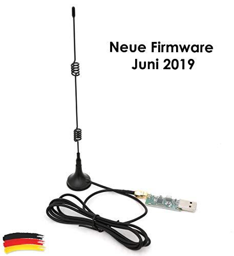 CC2531 ZigBee USB-Sick zigbee2mqtt ioBroker FHEM SMA 8dbi Antenne mit Firmware