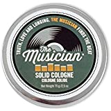 Walton Wood Farm Solid Cologne (The Musician) Vanilla Bean & Musk Scent Vegetarian Friendly, and Paraben-Free 2.5 oz