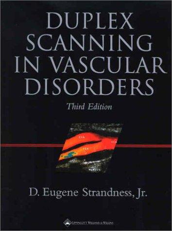 Duplex Scanning in Vascular Disorders