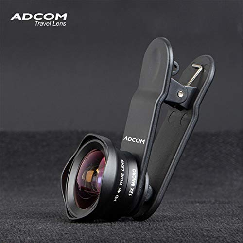 Adcom Clip-on Mobile Phone Camera Lens