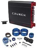 Crunch PX-2000.1D 2000 Watt Mono Powerful Car Audio Amplifier+Amp Wire Kit