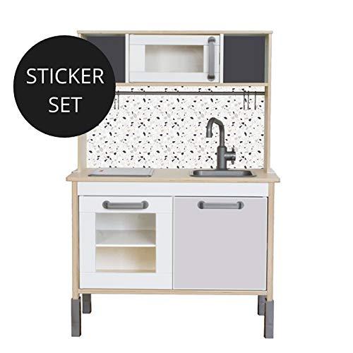 Limmaland Sticker TERRAZZO für IKEA DUKTIG - Kinderküche Nicht inklusive