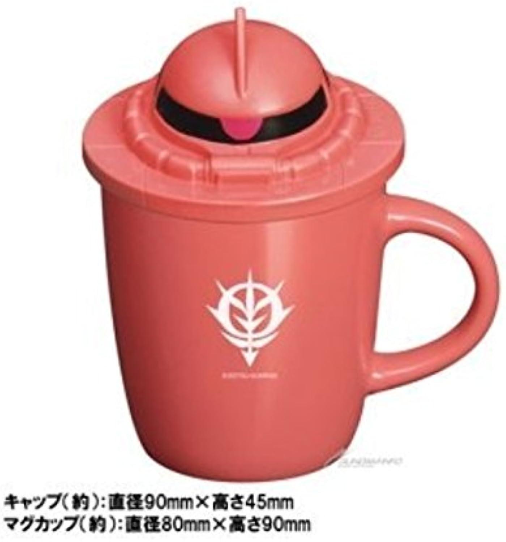 SevenEleven limited Char Zaku cap with mug Gundam campaign