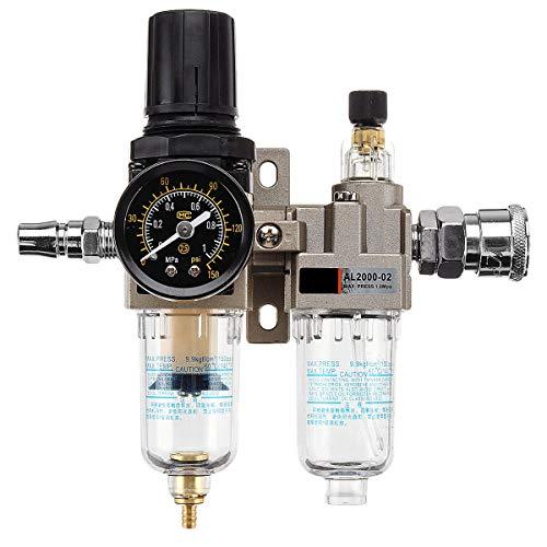MASUNN 150Psi Handleiding Pneumatische Luchtdruk Filter Regulator Compressor Olie Water Separator