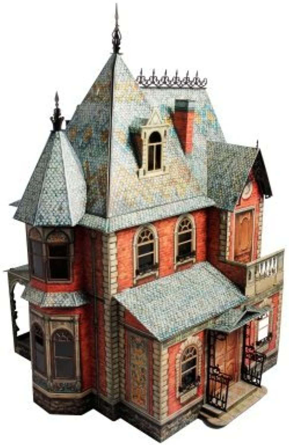 Innovative 3D Puzzles from UMBUM - Large Doll House  1 Clever Paper by UMBUM