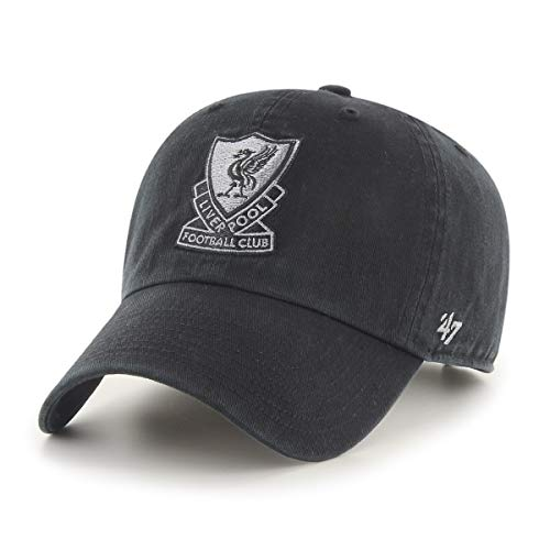 '47 Brand FC Liverpool Basecap Cap Kappe schwarz Premier League England clean up You'll Never Walk Alone