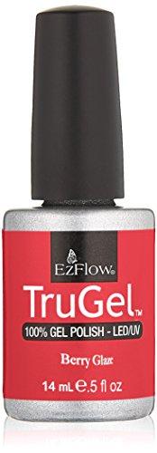Ezflow Trugel Vernis à Ongles Berry Glaze