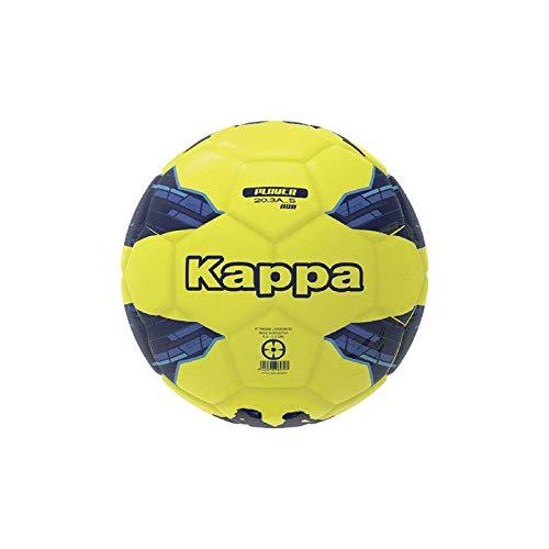 Kappa HYBRIDO Ball Player 20.3A HYB Balón de fútbol, Unisex niños, Amarillo/Azul/Azul Fluor, T04