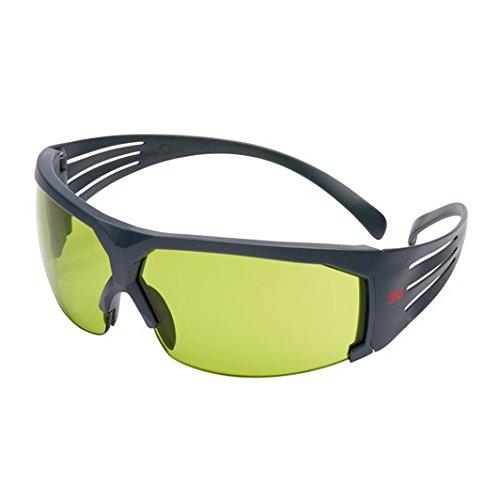 3M SF617AS SecureFit Schutzbrille, AS, Grauer Rahmen, IR 1.7