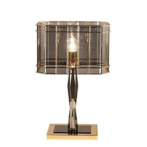 XH@ED Led Kreative Neoklassizistisches Designerhotel Dekorative Nachttischlampe Geführten Hotel Tischlampe Schlafzimmer Einfache Personality Energieeinsparung Und Umweltschutz