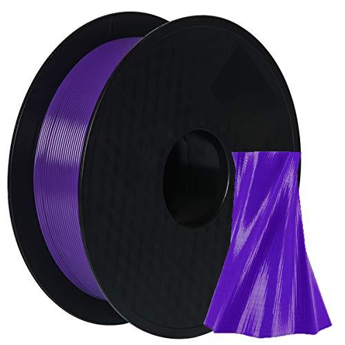 DERUC Geeetech PLA + filament 1.75mm Purple, 3D Drucker Filament PLA 1kg Spool