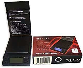 tr 100 digital pocket scale calibration