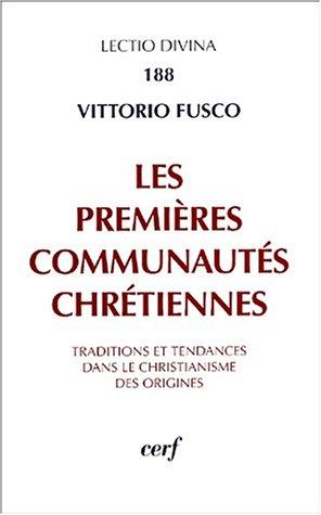 Les premières communautés chrétiennes