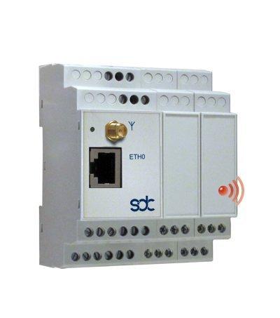 sdc SDM103E-W Smart Data Meter E3 IoT/WLAN Energiemessgerät, Leistungsmessgerät und Datenrekorder 14GB mit drei dreiphasigen Messstellen für flexible Strommessschleifen (Rogowski Coils)