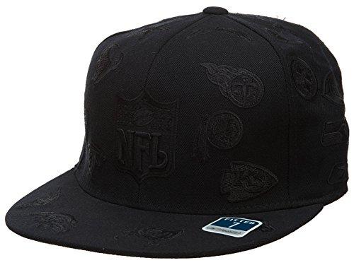 Reebok–Sábana bajera ajustable gorro para hombre estilo: hat238-black tamaño: 71/8