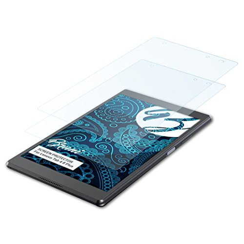 Bruni Schutzfolie kompatibel mit Lenovo Tab 4 8 Plus Folie, glasklare Bildschirmschutzfolie (2X)