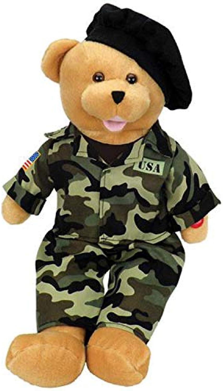 Chantilly Lane 19  American Hero Army Bear Sings Army Goes Rolling Along