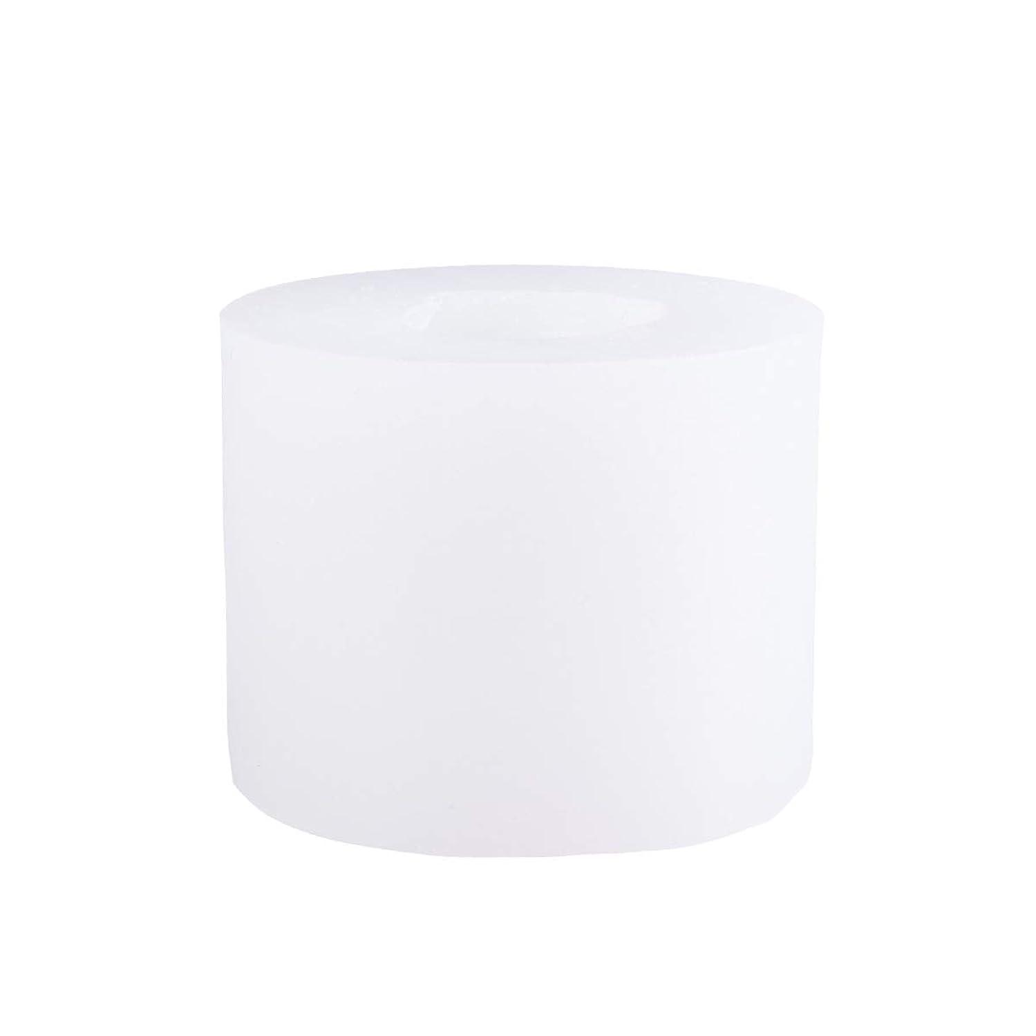 恩赦締め切り公平SUPVOX 3Dシリコーンの香料入りの蝋燭型DIYの技術はフォンダンケーキ型を形成します