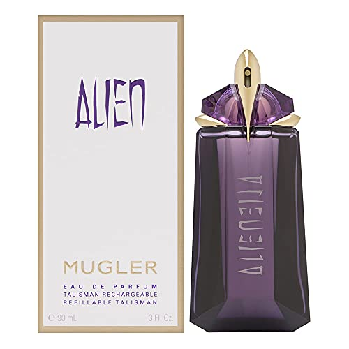 Thierry Mugler Alien Edp for Women - Refillable, 3 Fl Oz, oriental woody
