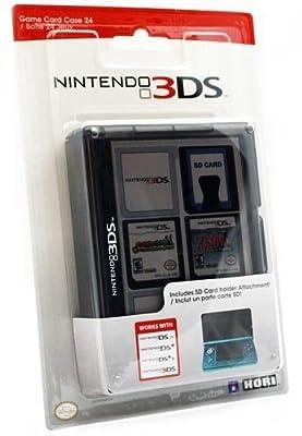 Nintendo 3DS Game Card Case 24 - Black