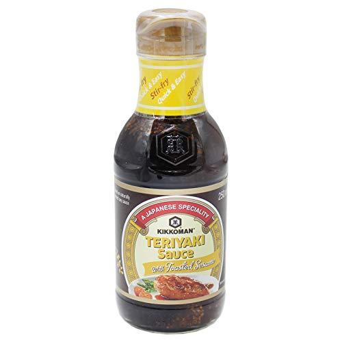 2 x Kikkoman Teriyaki Sauce mit geröstetem Sesam 250ml (Papa Vo ®)