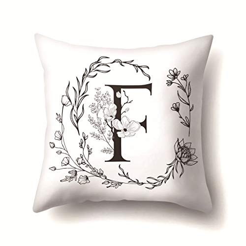 LHHH Geometric Cushion Covers Soft Pillow Covers Polyester with Zip Decorative Throw Pillow Case for Bedroom Sofa Garden