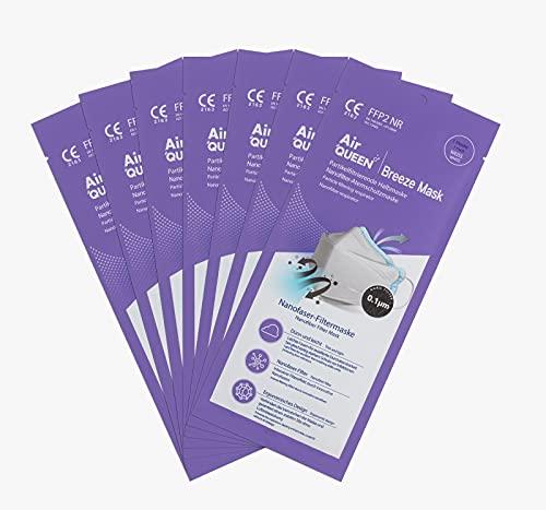 Air Queen Breeze Mask Schutzmaske FFP2 e FFP NR EN149:2001 + A1:2009 ISO 13485 – in einer Individuellen Hülle (50)