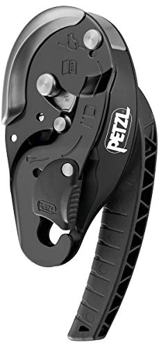 PETZL Unisex-Adult D020AA01 I'd S Descender Black, solid, one Size