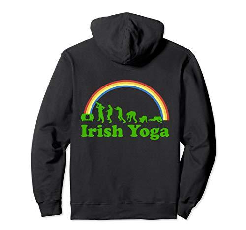 St. Patricks Day Irischer Yoga-Alkohol-Biertrinker Schnaps Pullover Hoodie