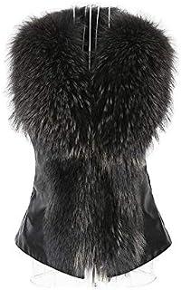 Autumn And Winter Women's Jacket Short Faux Fur Collar Warm Comfort Jacket