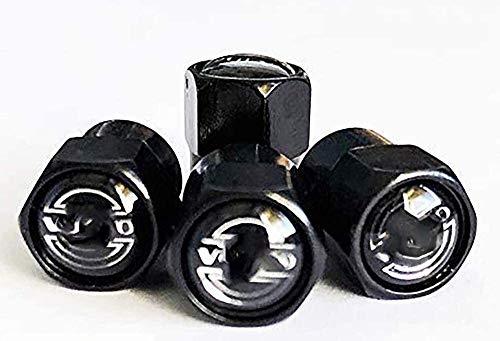 4pcs coche de neumático de la válvula de neumático Tapas de aire, para Volvo Logo Emblem Auto Caps Taps Válvulas Polvo Tapa de tallo Decoración Válvula de ruedas Universal Válvula Tapas de vástago 21-