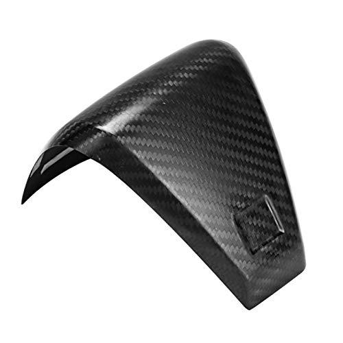Qqmora Cubierta de moldura para Motocicleta, Pegatina Decorativa sofisticada Decorativa, modificación de Fibra de Carbono, Accesorio automático