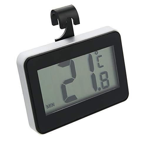 Pmall Termómetro Digital para refrigerador, Termómetro para congelador Impermeable con Pantalla LCD fácil de Leer, Registro de Temperatura máx. / Mín.