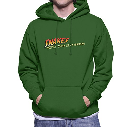 Snakes Whyd It Have To Be Snakes Heren Hooded Sweatshirt