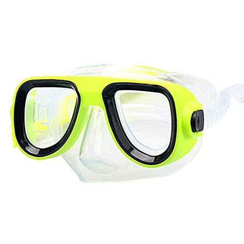 Gyratedream Kids Taucherbrille Maske Atemschlauch Stoßfest Antifog Schwimmbrille Band Schnorcheln Unterwasserzubehör Set