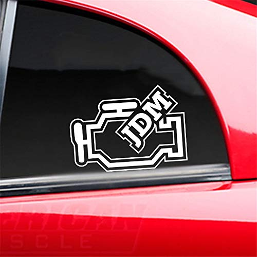 auto sticker auto sticker JDM check motor licht grappige auto raam sticker bumper sticker diagnostische achterraam auto sticker