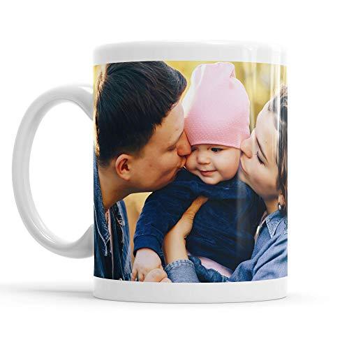 LaMAGLIERIA Tazza Personalizzata con la Tua Foto su Tutta la Superficie - Custom Mug Fotografica in Ceramica, cod. DES01