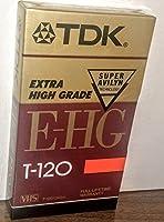 TDKハイグレードVHSビデオテープカセット、6時間( tdk30120)カテゴリ: VCRやVCRアクセサリー