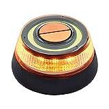 Luz de Emergencia LED 12W IP54 V16 Negro Homologado DGT 7hSevenOn