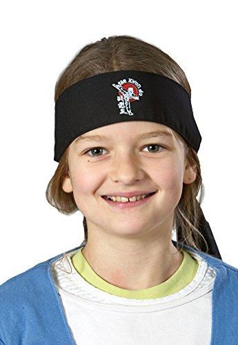 Stirnband TKD, schwarz