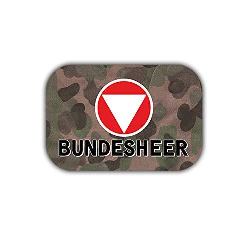 Sticker Autocollant – Camouflage Militaire Armée Bundeswehr blason insigne Fédérale d'Allemagne 7 x 5 cm # A1856