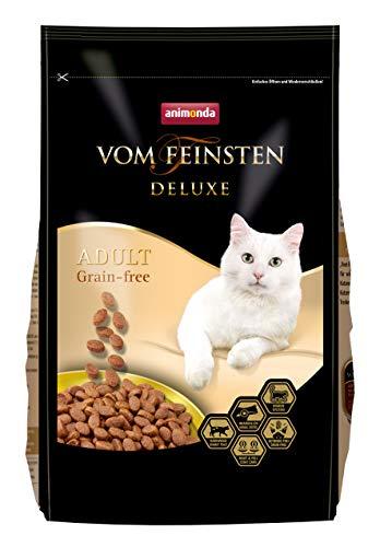 animonda Vom Feinsten Deluxe Adult Grain-Free Katzenfutter, Trockenfutter für erwachsene Katzen, 1,75 kg