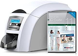 Magicard Enduro 3E Duo Dual-Side ID Card Printer and AlphaCard ID Suite Light Software
