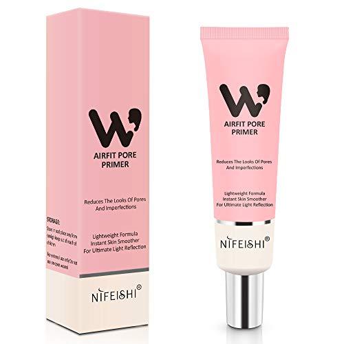 Gesichts Make-up Grundierung, Pore Primer Gesicht Make-up Base Cover Poren, Oil Control Feuchtigkeitsspendende Essence Concealer Foundation - Pink