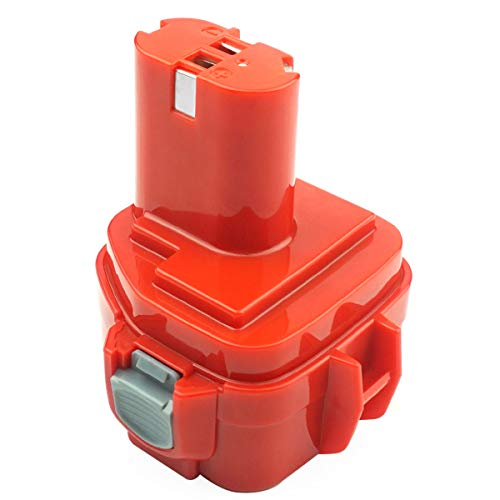 ADVNOVO 12V 3.0Ah Ni-MH Batería para Makita PA12 Batería Makita 1220 1222 1233 1200 1234 1235 1235B 1235F 1235A 192696-2 192698-8 192598-2 192681-5 192698-A 193138-9 193157-5