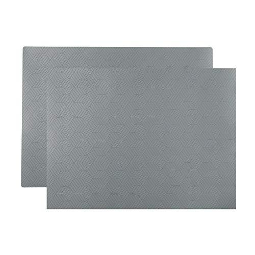 Ikea SLIRA - Mantel individual (36 x 29 cm), color gris