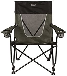 Coleman Ultimate Comfort Sling Chair, Gray Beach Pool Outdoor Summer